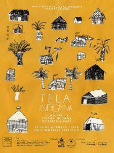 desenhos feitos em grupo na Tekoá Jata'Ity, aldeia Mbyá do Cantagalo - Viamão/RS